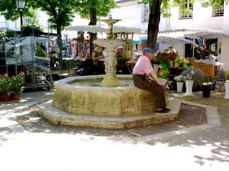 Market Day in Chinon