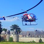 Baptême de l'air en hélicoptère: Comment découvrir le Val de Loire d'en haut