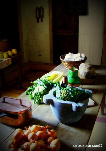 Château de Selles sur Cher 41 visite de la cuisine avec LoireXplorer