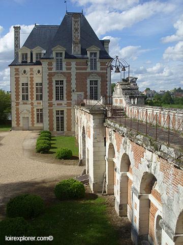 Château de Selles sur Cher visite aile Philippe de Béthune