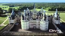 Visite du Château de Chambord en avion acrobatique