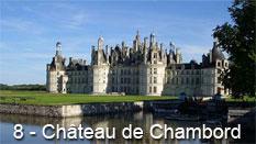 monument et châteaux de la Loire ouverts toute l'année Château de Chambord