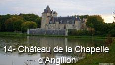 monument et châteaux de la Loire ouverts toute l'année Château de la Chapelle d'Angillon