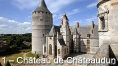 monument et châteaux de la Loire ouverts toute l'année Château de Châteaudun