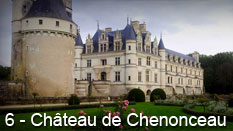 monument et châteaux de la Loire ouverts toute l'année Château de Chenonceau