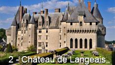 monument et châteaux de la Loire ouverts toute l'année château de Langeais