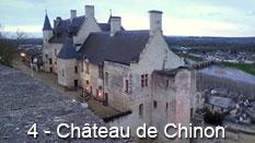 monument et châteaux de la Loire ouverts toute l'année - Château Forteresse de Chinon
