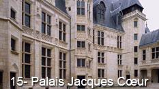 monument et châteaux de la Loire ouverts toute l'année Palais Jacques Coeur