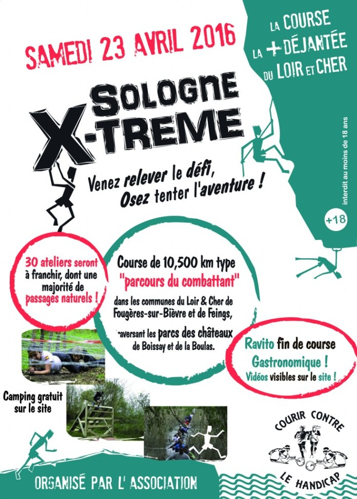 sologne xtreme course d'obstacle, mud run