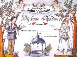 certificat des amoureux saint valentin indre 36 fête des amoureux
