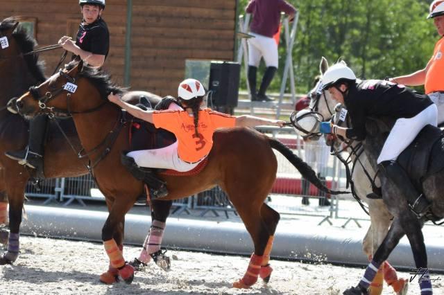 Championnats de France 2016 « Le Grand Tournoi » au Parc Équestre de Lamotte - l'équipe de l'Alméria parc, parc de loisirs équestres familial et insolite en Sologne, est championne de France -Crédit photo ©Alméria Parc