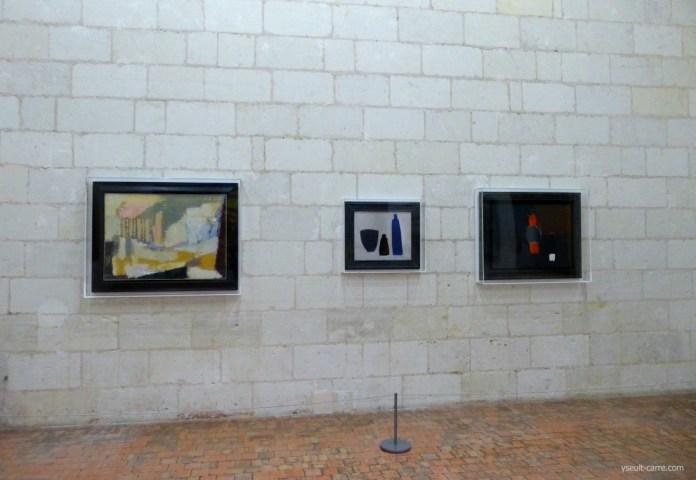 Nicolas de Staël - Paysage Sicile 1953 - Nature morte fond clair 1954 - Lanterne et pichet 1955 copyright Yseult Carré
