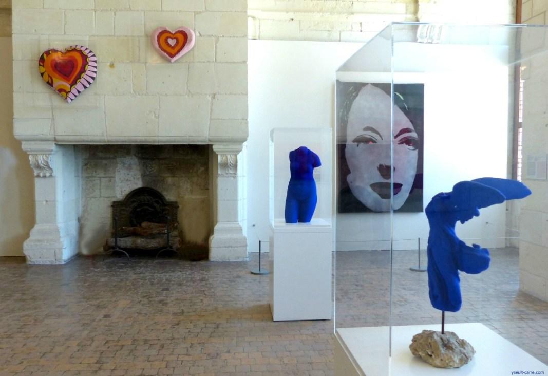 À Chambord, une exposition insolite et inédite « Georges Pompidou et l'art : une aventure du regard »