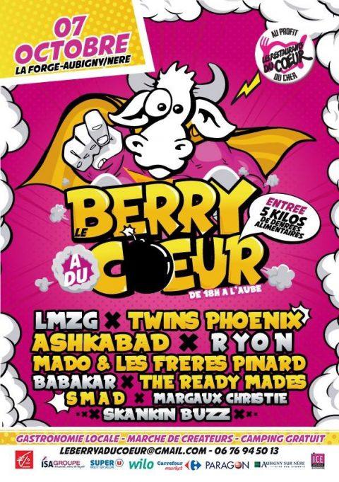 Le Berry a du cœur Festival solidaire #3 2017