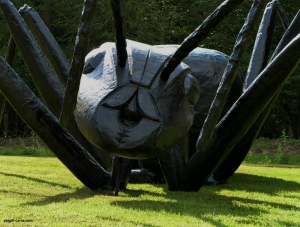 Michel Audiard « Fourmi » (détail) - Jardin de sculptures de la Biennale de Sologne 2017 copyright Yseult Carré