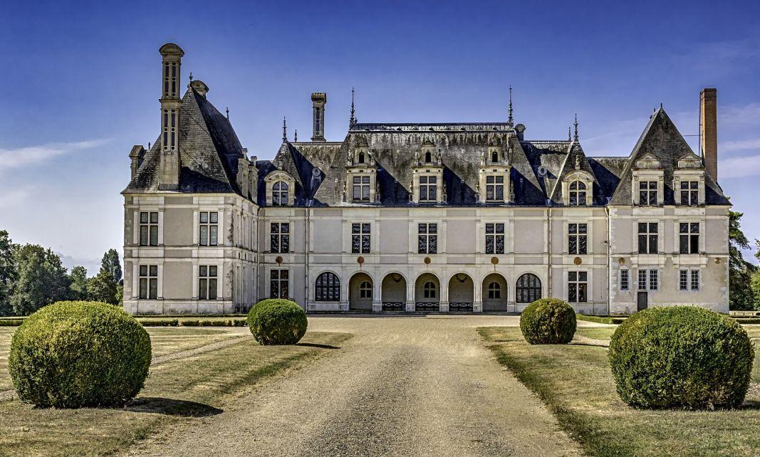 Le Château de Beauregard en Val de la Loire, célèbre pour ses 327 portraits