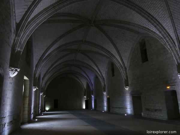 Abbaye de Fontevraud réfectoire
