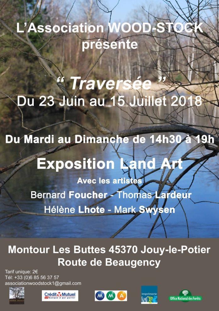 Wood-Stock 2018 Land Art « Traversée »