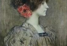 Portrait présumé de Colette par Jacques Humbert vers 1896