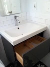 ikea bathroom vanity | Loisaida Nest