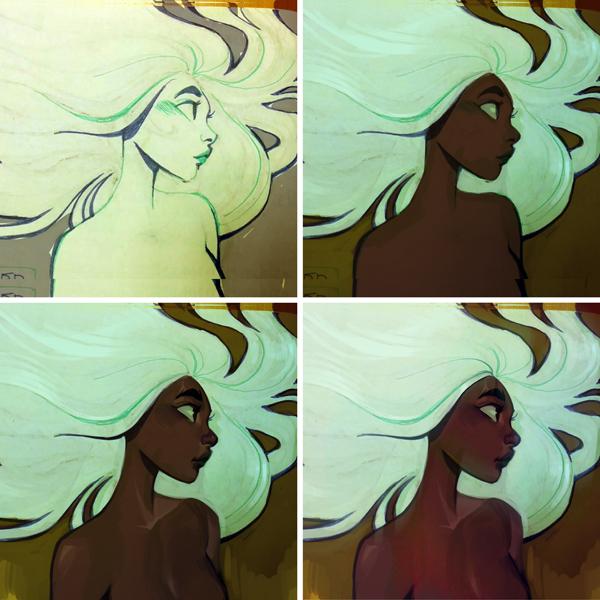 Wallpaper Dark Anime Girl Loish Net