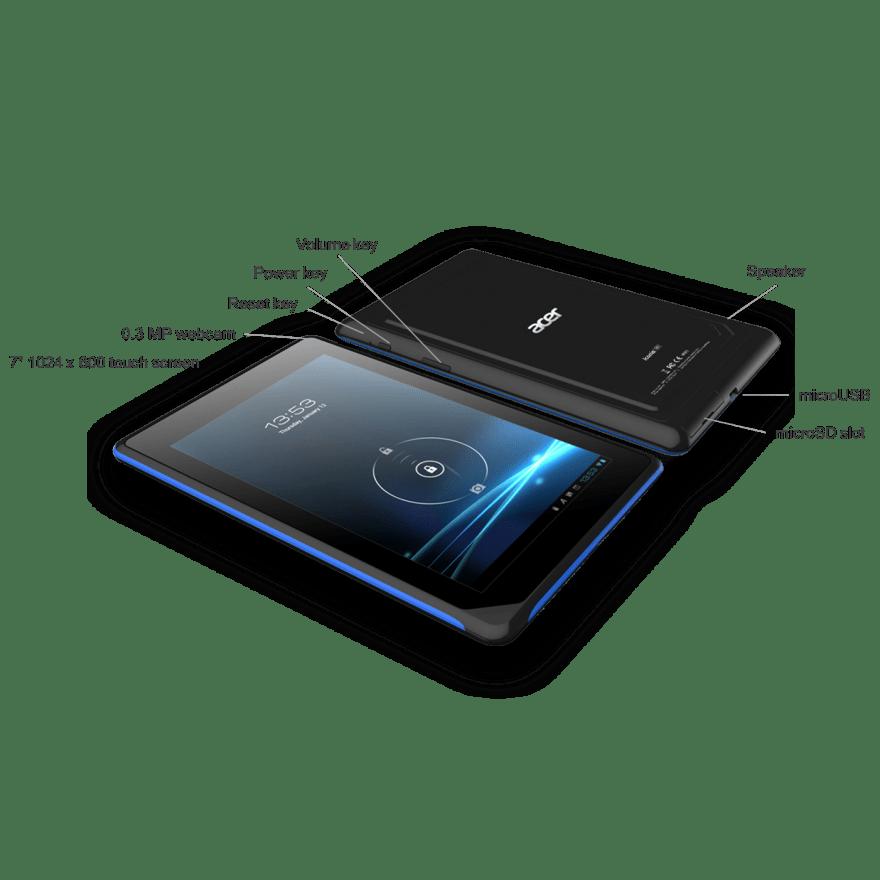 Tablet Original Acer Compact Executive Dual Core 16GB