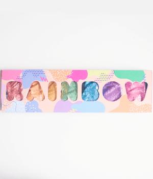 Glitter Biodegradável Colorido - Kit Rainbow