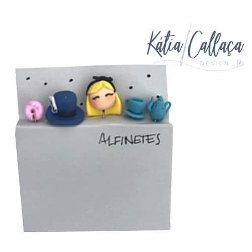 Alfinetes Decorativos Em Biscuit