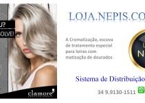Cromatto PRO  –  Escova de tratamento especial para loiras