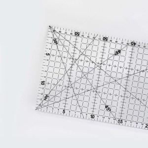 Régua em Acrílico para Patchwork 15x60cm Artmak
