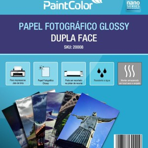 Papel Fotográfico Glossy Dupla Face A4 180g 20 Folhas
