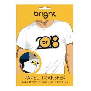 Papel Transfer Para Tecidos de Algodão Claro Bright - 10 Folhas