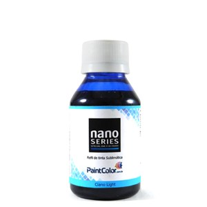 Tinta Sublimatica Ciano Light Nano Series 100mL