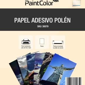 Papel Adesivo Polen para Jato de Tinta 180g A4 - 10 Folhas