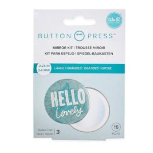 Espelho Botton Press We R - 3 Peças