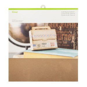 Papel Kraft Natural - Cricut Cardstock 30x30 cm - 20 folhas