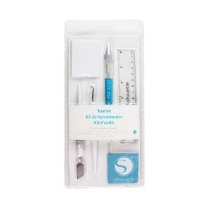 Ferramentas Essenciais Azul Silhouette - Kit com 6 Peças