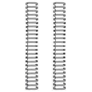 Espiral para Encadernação Wire o The Cinch Preto 19mm - 2 Unidades