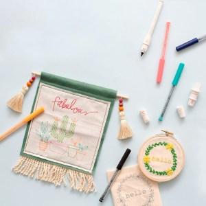 Fabric Quill We R - Ferramenta de Desenho em Tecido