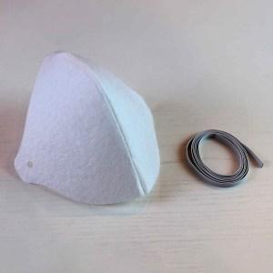 2 x Mascara Protetora de Tecido Lavável e Reutilizável - Não Descartável