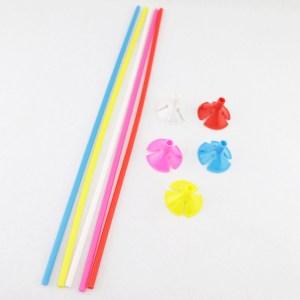 Suporte Haste para Balão 30 cm - 12 peças