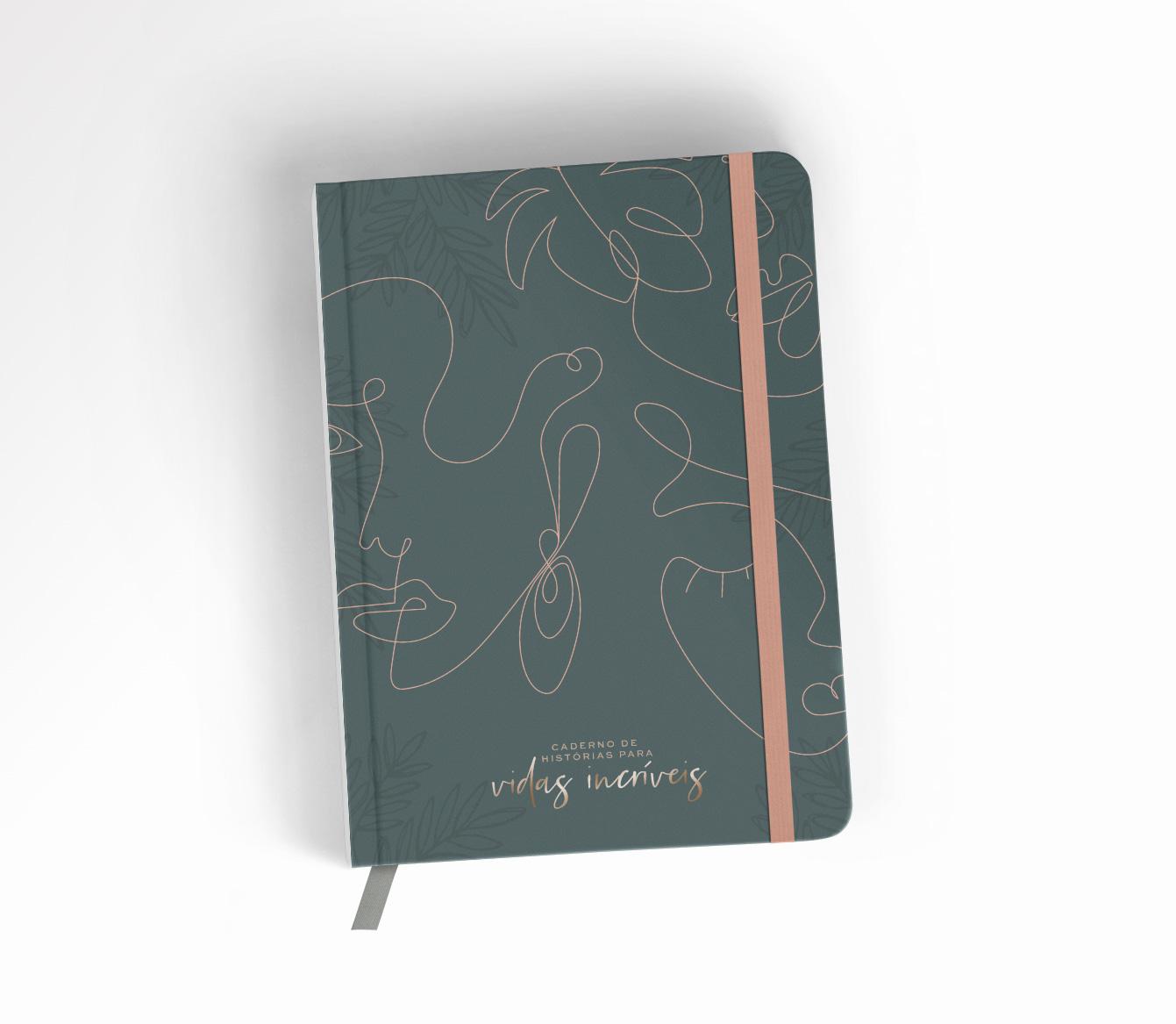 Caderno de Histórias para Vidas Incríveis - Deusas