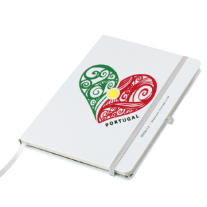 Portugal Heart Notebook
