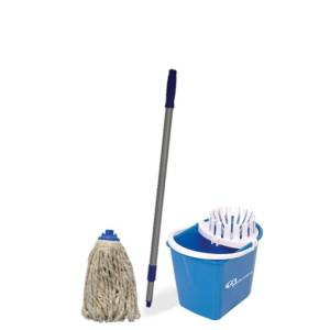 conjunto balde mopinho azul bralimpia