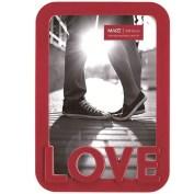 Porta Retrato Love Vermelho 10x15cm Mart 2440