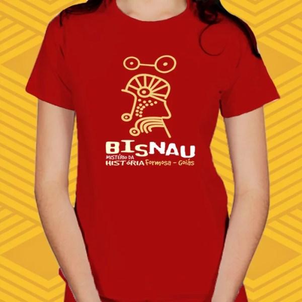 Camiseta Bisnau Baby Look