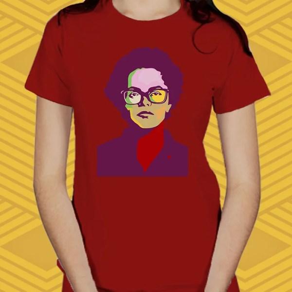 Camiseta Dilma Baby Look