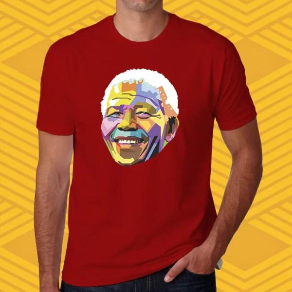 Camiseta Nelson Mandela Unissex