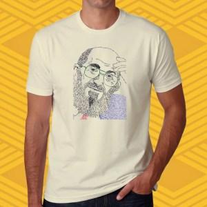 Camiseta Paulo Freire Unissex