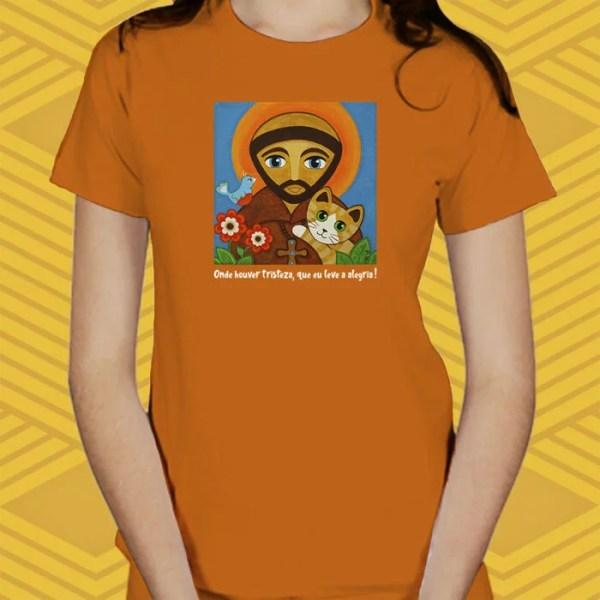 Camiseta São Francisco Baby Look
